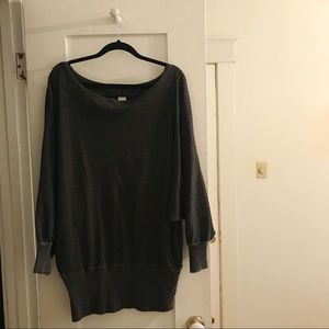 Free People Banded Sweater Tunic / Dress